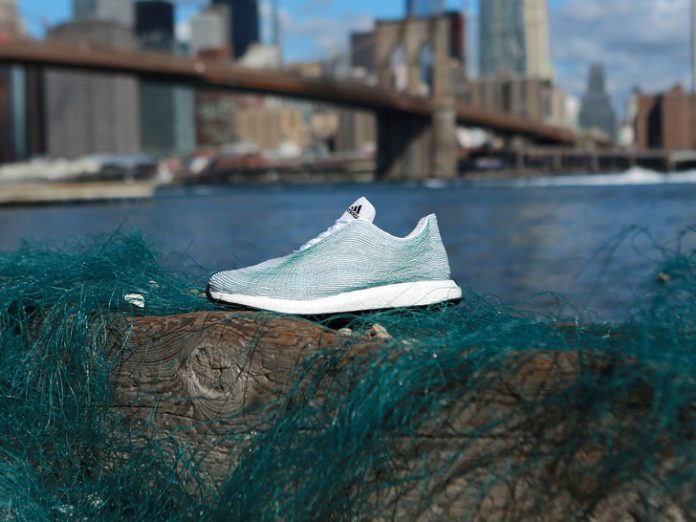 chaussure Adidas x Parley recyclable