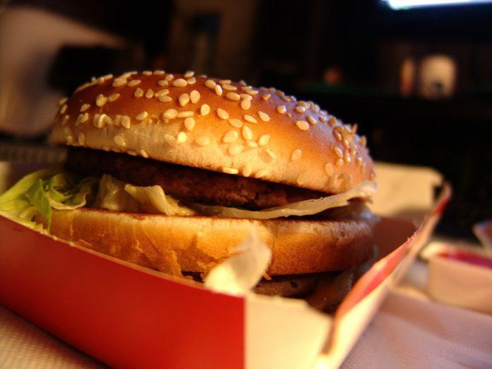 Big Mac ouvert