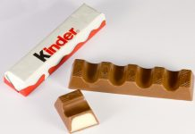 Barre de chocolat Kinder
