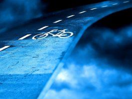 pistes cyclables rétroéclairées
