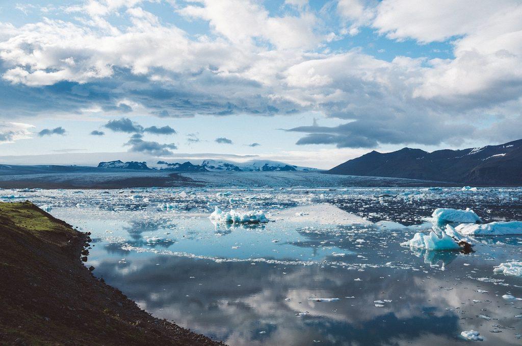 chaleur et fonte des glaces
