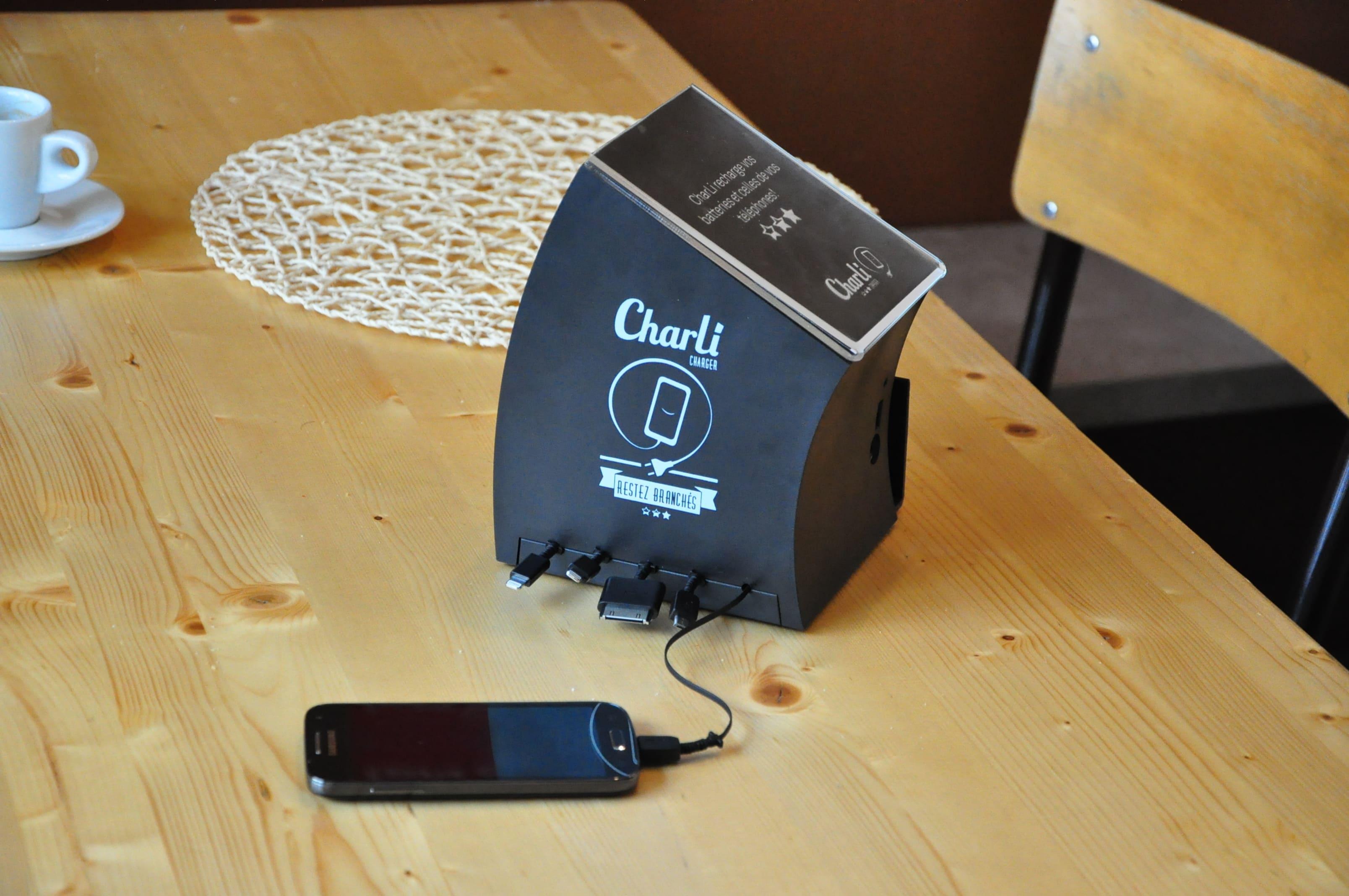 Charli_Charger, la borne de rechargement automatique