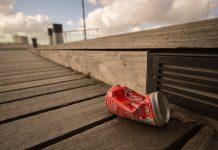 coca cola déchet