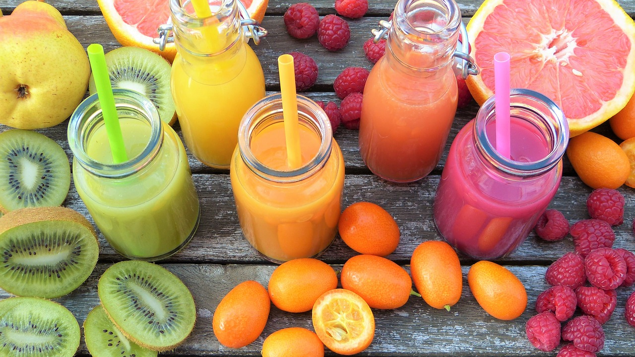 smoothies fruits