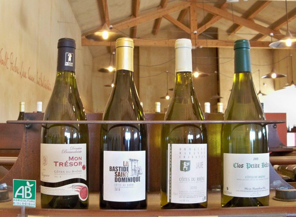 grands crus de vins bio