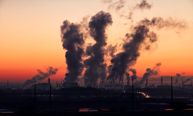 pollution de atmosphérique