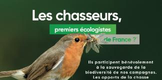 chasseurs premiers écologistes