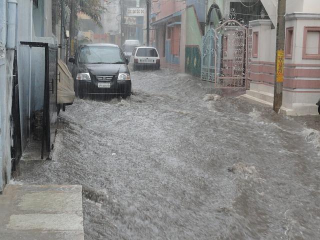 catastrophes naturelles et inondations