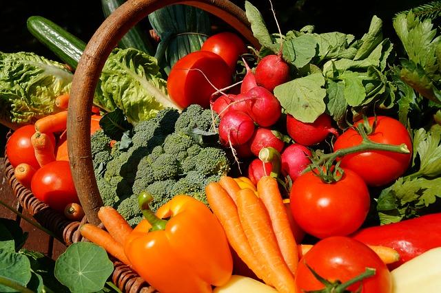 alimentation santé fruits et légumes frais