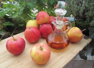 santé naturelle avec vinaigre de cidre