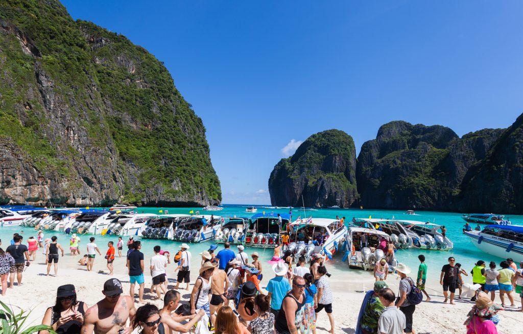 Maya Bay fermée pour surtourisme