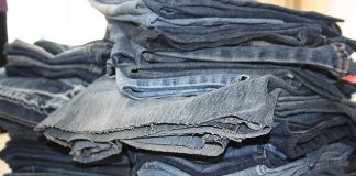 vieux vêtements recyclables