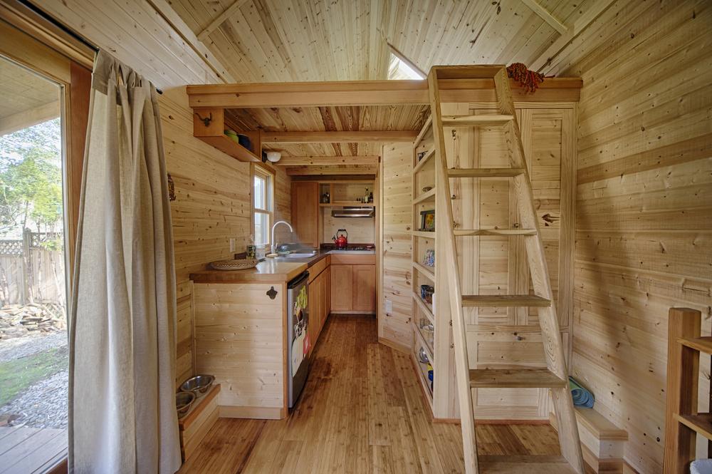 intérieur d'une tiny house