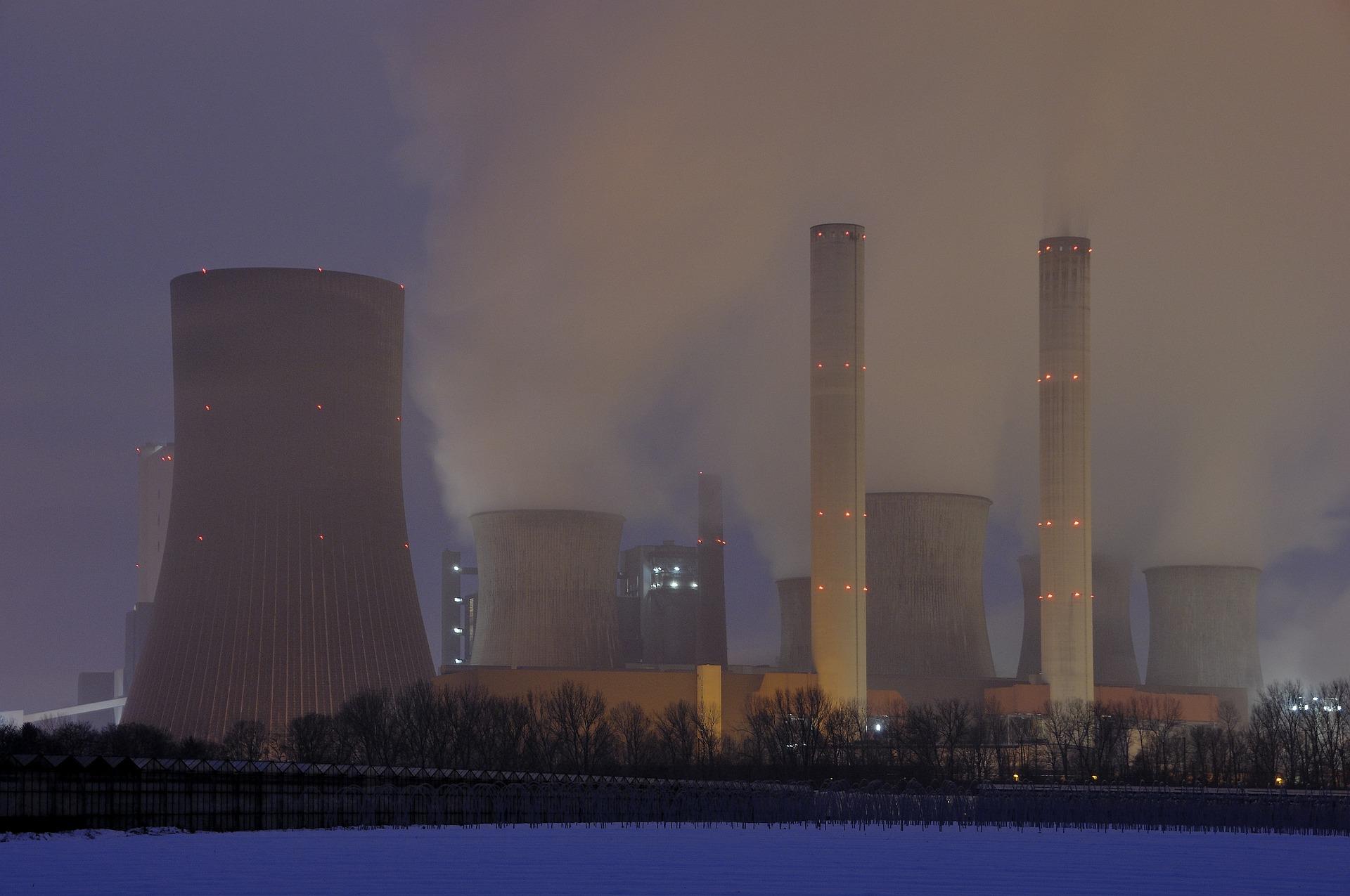 centrale nucléaire pixabay