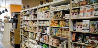 rayon de produits sans gluten