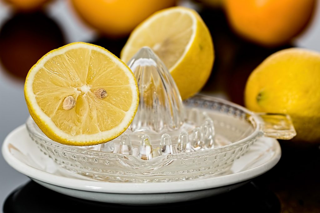 jus de citron nettoyant
