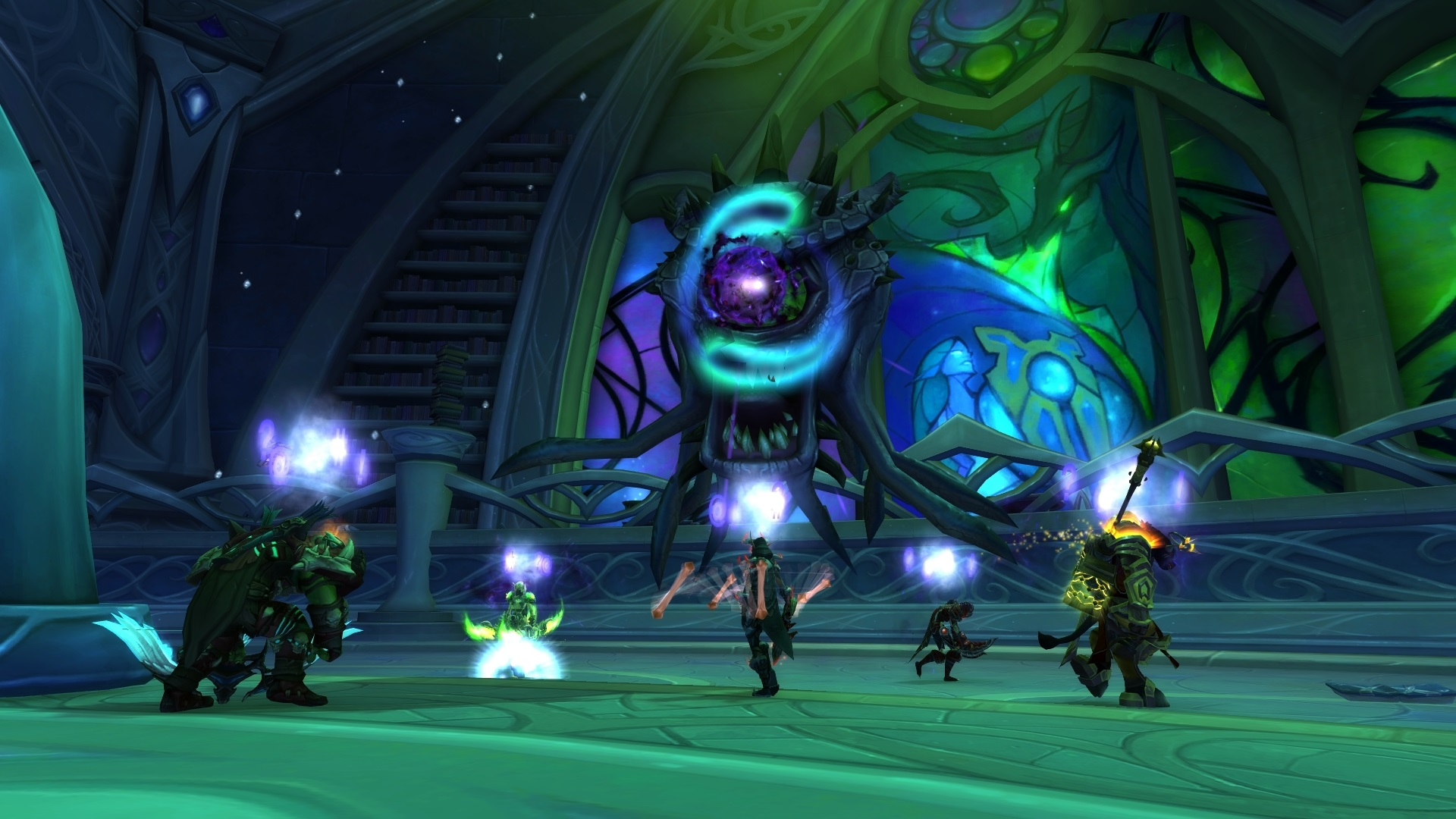 World of Warcraft tomb of sargeras