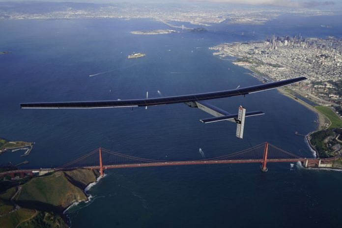 solar impulse avion électrique