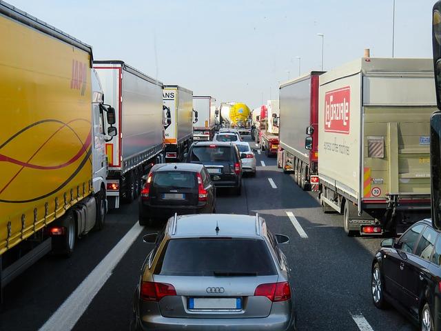 transport camions émission GES