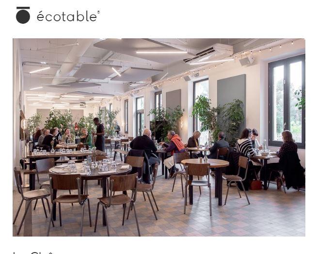 label restaurants écotable