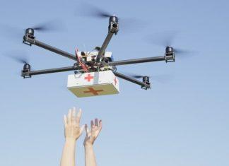 livraison colis drone