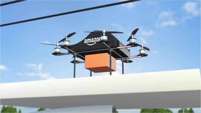 livraison par drones Amazon
