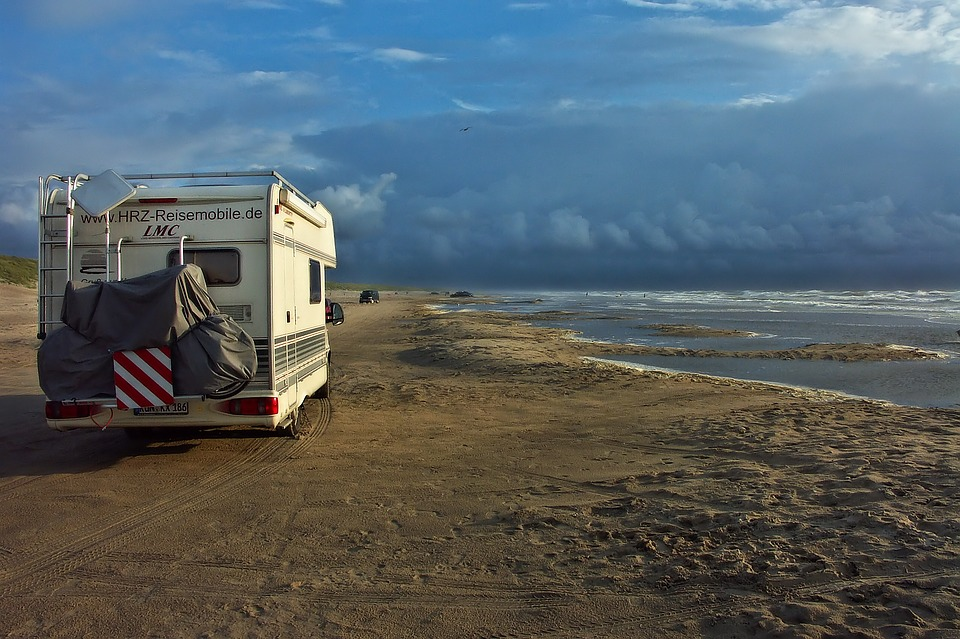 camping car vacances plage