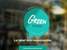 label green food
