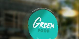 label green food