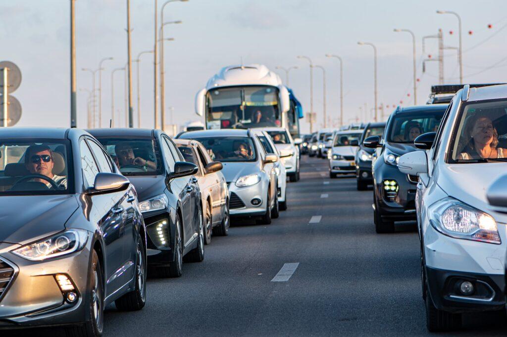 embouteillages évités en télétravail