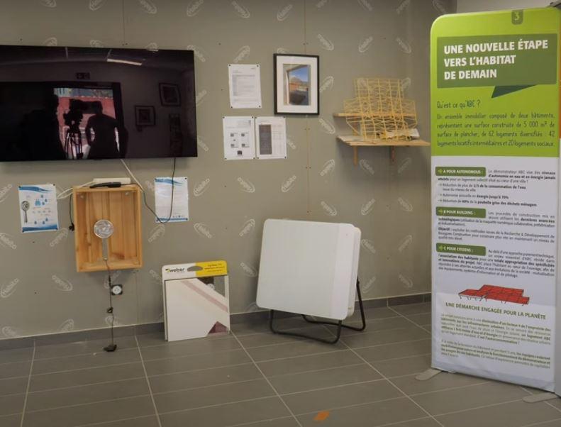 showroom bâtiment autonome