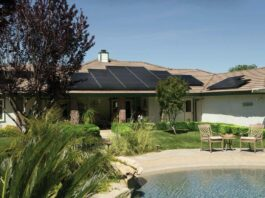maison panneau solaire